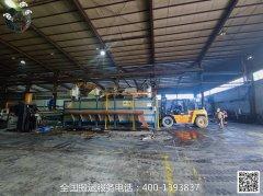 【设备安装】-铝合金熔化炉搬运安装案例